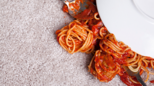 REMOVING FOOD ODORS ON CARPETS